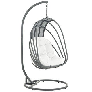 Modway Whisk Steel Outdoor Patio Swing Chair