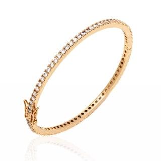 Peermont Jewelry 18k Goldplated Swarovski Elements Bangle