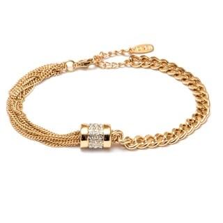 Women's Rhodium Plated Bracelet