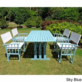 Blue dining sets shop the best patio furniture deals for for Best patio set deals
