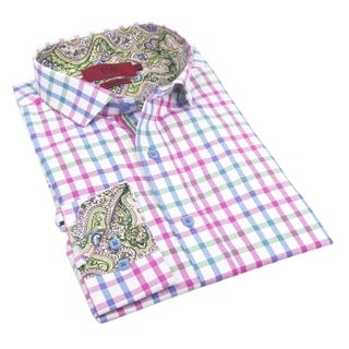 Elie Balleh Milano Italy Boy's 2016 Style Slim Fit Shirt