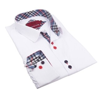 Elie Balleh Milano Italy Boy's Polyester Cotton Style Slim Fit Shirt (More options available)