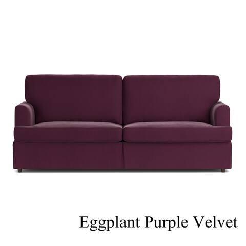 Handy Living Undercover Custom Orlando Sofast Sofa With Skirted Slipcover