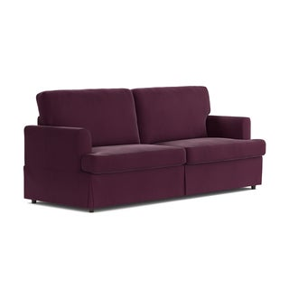 Handy Living Undercover Custom Orlando SoFast Sofa with Skirted Slipcover
