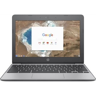 "HP Chromebook 11-v000 11-v020nr 11.6"" Touchscreen Chromebook - 1366 x 768 - Celeron N3060 - 4 GB RAM - 16 GB Flash Memory - Ano"