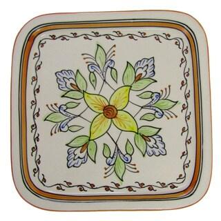 Stoneware Salvena Square Platter (Tunisia)