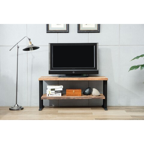 Crawford & Burke Duke Reclaimed Fir Two-shelf TV Stand