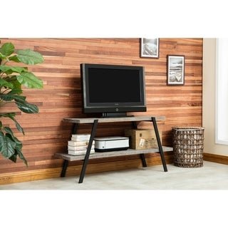 Crawford & Burke Brosnan Reclaimed Fir/ Metal Industrial TV Stand