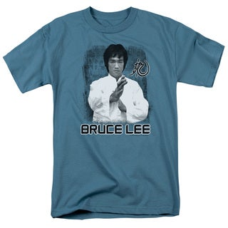 Bruce Lee/Concentrate Short Sleeve Adult T-Shirt 18/1 in Slate