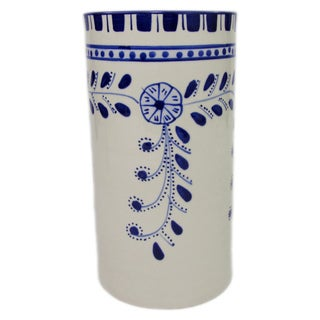 Handmade Le Souk Ceramique Azoura Stoneware Utensil/ Wine Holder (Tunisia)