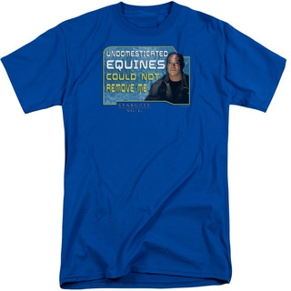 Sg1/Dedicated Short Sleeve Adult T-Shirt Tall in Royal