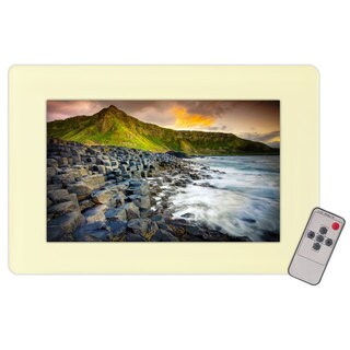 Pyle RBPLVW19IW 19-inch In-wall Mount TFT LCD Flat Panel Monitor for Home and Mobile Use With VGA and RCA Inputs