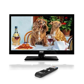 Pyle Black High-Definition 18.5-inch Flat Screen LED TV