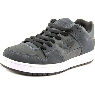 DC Shoes Men's Manteca Grey Leather Athletic Shoes