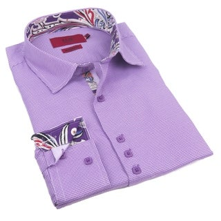 Elie Balleh Milano Italy Men's 2016 Style Slim Fit Shirt (More options available)