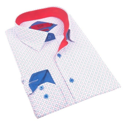 Elie Balleh Milano Italy Men's 2016-style Slim-fit Shirt