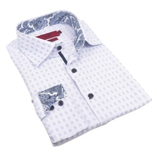 Elie Balleh Milano Italy Men's 2016 Style Slim Fit Shirt