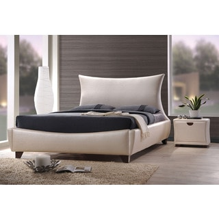 Galton Upholstered King Bed, Pearl PU