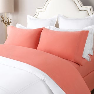 turkish cotton solid flannel sheet set by briarwood home