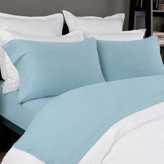 Cotton And 150 GSM Solid Jersey Deep Pocket Bed Sheet Set By Briarwood Home