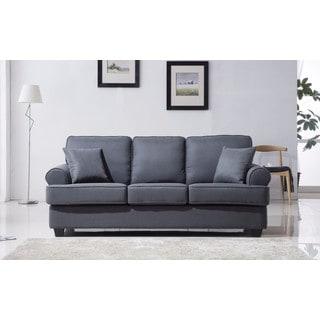 Classic Plush Linen Fabric Sofa