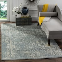 Safavieh Adirondack Vintage Distressed Slate Grey/ Ivory Large Area Rug - 10' x 14'