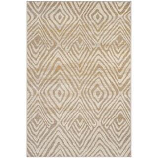 Safavieh Amsterdam Ivory / Mauve Rug (9' x 12')