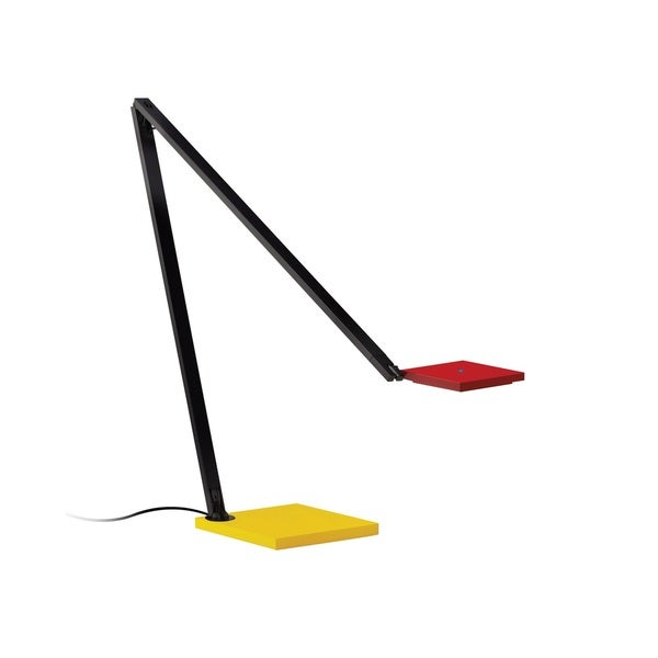 Sonneman Lighting Quattro Red/Yellow/Black LED Task Lamp