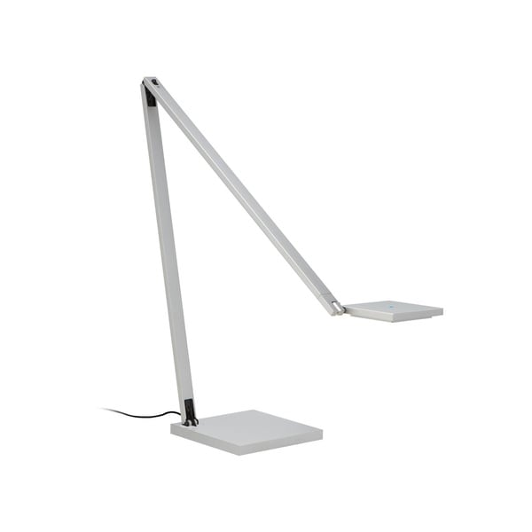 Sonneman Lighting Quattro Bright Satin Aluminum LED Task Lamp