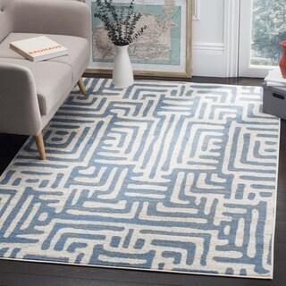 Safavieh Amsterdam Ivory / Light Blue Rug (9' x 12')