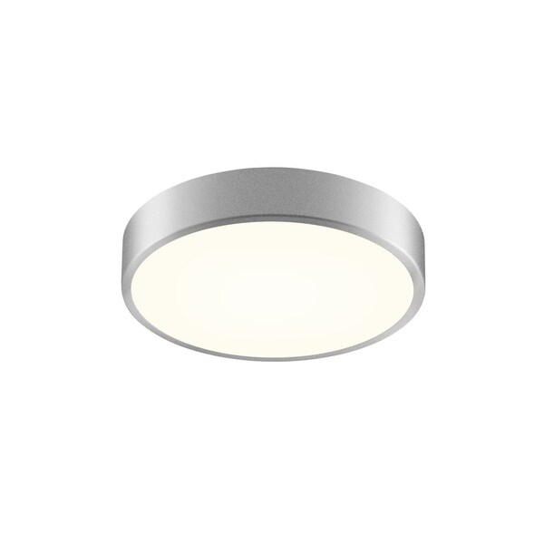 Sonneman Lighting Pi Bright Satin Aluminum 12-inch LED Surface Mount