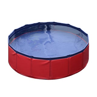 Pawhut PVC 12-inch x 47-inch Foldable Pet Swimming Pool