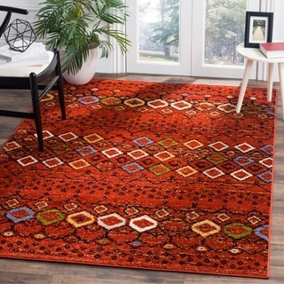 Safavieh Amsterdam Bohemian Terracotta / Multicolored Rug (9' x 12')