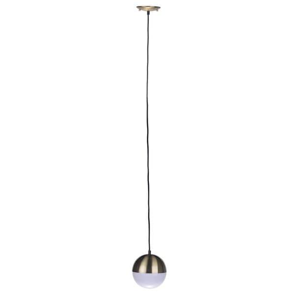 Silver 7-inch x 56-inch Harlow Pendant