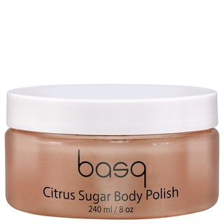 Basq NYC 8-ounce Citrus Sugar Skin Perfecting Scrub