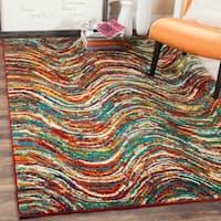 Safavieh Aruba Abstract Multi-colored Rug - 8' x 10'