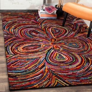 Safavieh Aruba Abstract Multi-colored Rug (7' x 10')