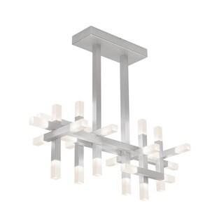 Sonneman Lighting Connetix Bright Satin Aluminum Bar LED Pendant