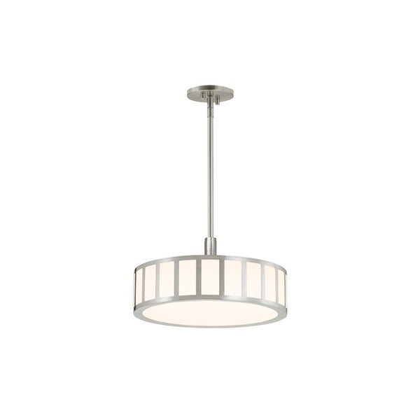Sonneman Lighting Capital Satin Nickel 16-inch LED Pendant