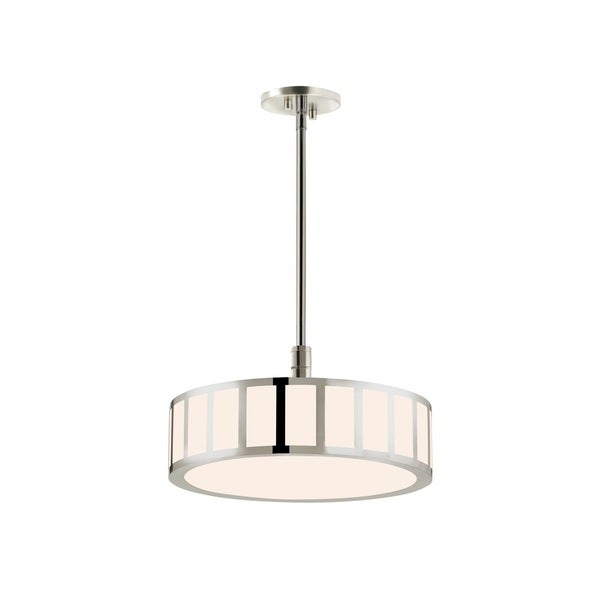 Sonneman Lighting Capital Polished Nickel 16-inch LED Pendant