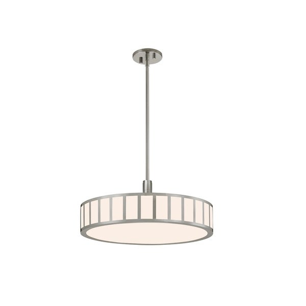 Sonneman Lighting Capital Satin Nickel 22-inch LED Pendant