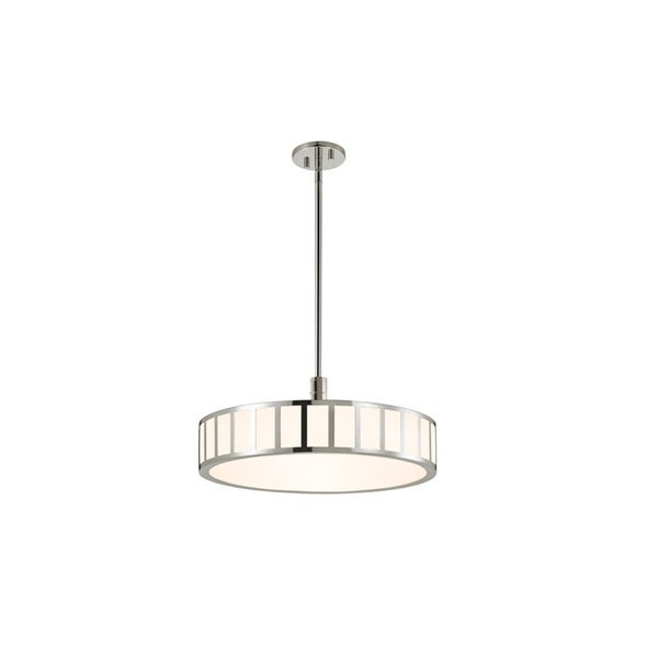 Sonneman Lighting Capital Polished Nickel 22-inch LED Pendant