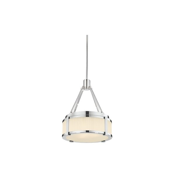 Sonneman Lighting Roxy 2-light Polished Nickel Pendant