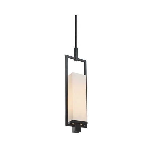 Sonneman Lighting Metro Black Brass Pendant