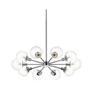 Sonneman Lighting Orb 10-light Polished Chrome Pendant