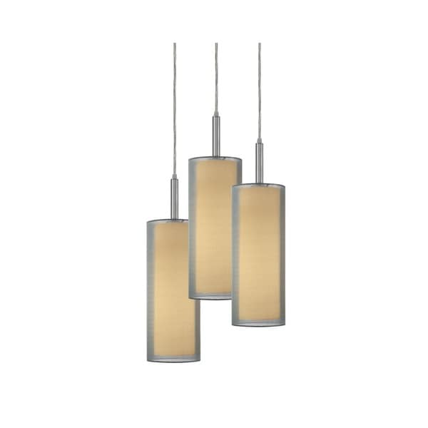 Sonneman Lighting Puri Satin Nickel Pendant - Silver