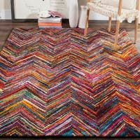 Safavieh Aruba Abstract Multi-colored Rug - multi - 6'7 x 9'