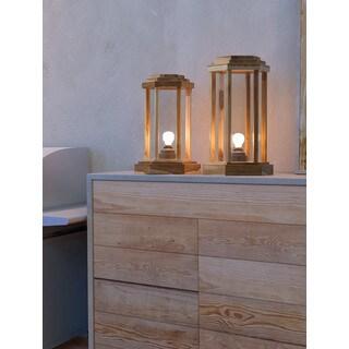 Zuo Latter Yellow Glass Floor Lamp