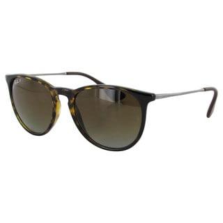 Ray Ban Mens RB4171 Erika Round Oversized Polarized Sunglasses