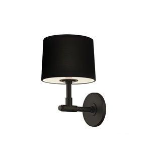 Sonneman Lighting Soho 1-light Satin Black Wall Sconce